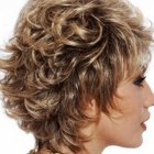 Hairstyles for curly short hair