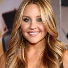 Hairstyles for long hair and round faces