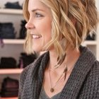Hairstyles for wavy short hair