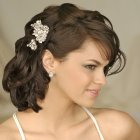 Hairstyles for weddings medium hair