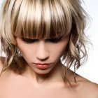 Highlighted hairstyles