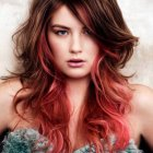 Latest hairstyles and colours