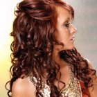 Long curly formal hairstyles