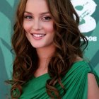 Long hair curly hairstyles