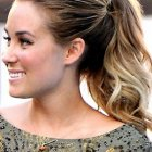 Low ponytail prom hairstyles