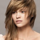 Medium haircut for women