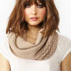 Medium hairstyles with bangs 2015