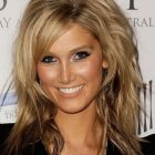 Medium length haircuts wavy hair