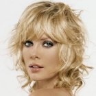 Medium length hairstyles wavy hair
