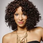 Medium natural curly hairstyles