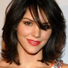 Medium short haircuts women