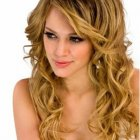 Pictures of long curly hairstyles