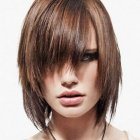 Pictures of medium hairstyles with bangs