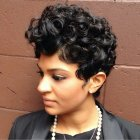 Pixie haircut curly hair