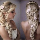 Plait hairstyles for long hair