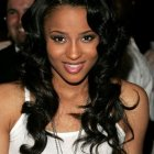 Prom hairstyles for long black hair