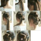Prom hairstyles step by step