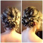 Prom half up hairstyles