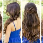 Recent hairstyles for long hair