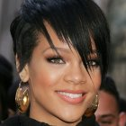 Rihanna short haircuts