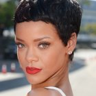 Rihanna short hairstyle