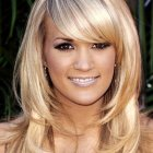 Sassy medium length hairstyles