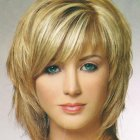 Shaggy medium length hairstyles