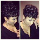 Short black haircuts for women 2015