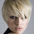 Short blond hairstyles