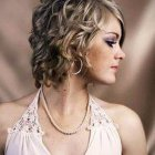 Short hair curly hairstyles
