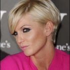 Short haircuts for women in their 20s