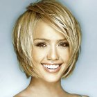 Short hairstyles for long faces women