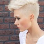Short mohawk hairstyles for women