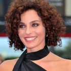Short very curly hairstyles