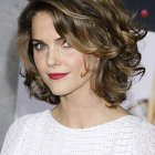 Short wavy curly hairstyles