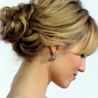 Simple updo hairstyles for long hair