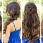Some hairstyles for long hair
