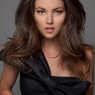 Sophisticated hairstyles for long hair