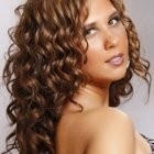 Spiral curly hairstyles