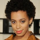 Styles for natural black hair