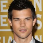 Taylor lautner haircut