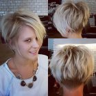 Trendy short hairstyles for women 2015