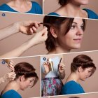 Tutorial hairstyles for short hair