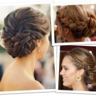 Updo braid hairstyles