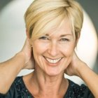 Very short haircuts for older women