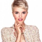 Very short hairstyles women