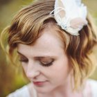 Wedding hairstyle short hair