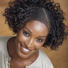 Afro braids hairstyles