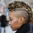 Braided mohawk hairstyles pictures
