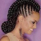 Braiding hairstyle